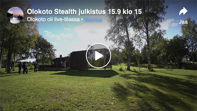 Video: Stealth-julkistamistilaisuus